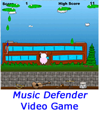 Music Defender Video Game