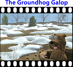 View The Video Groundhog Galop