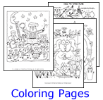 Coloring Pages from Music K-8 Covers