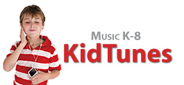 Music K-8 Kids Logo